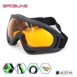 Bâti de Dropshipping TPU pilotant lunettes de sûreté extérieures de protection d'oeil UV400 de lunettes de vision nocturne de ski d'anti