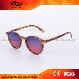 Widergespiegelte schützende polarisierte Sonnenbrillen des Kreis-UV400 für Frauen löschen