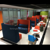 オフィスの使用のための現代高の家具の余暇の背部会合ブース