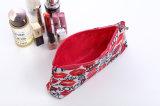 Mignons imperméables à l'eau composent sac de renivellement de vente en gros de sac de toilette de caisses cosmétiques d'impression de baiser de sacs le petit pour la marque d'organisateur de sac de course