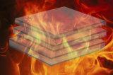 Multiforme Anti-UV tintado con aislamiento de calor Templado de Vidrio resistente al fuego