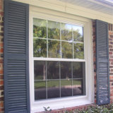 Revêtement poudre d'aluminium fenêtre coulissante vitre coulissante de bon marché