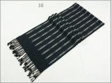 Mulheres Homens Reversível Unissexo Cashmere sentir quente de Inverno lenço de tecido de malha grossa de impressão (SP821)