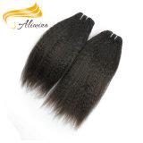 Волосы Remy девственницы машины Weft двойные нарисованные индийские