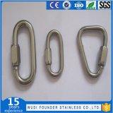 스테인리스 Ss304 또는 Ss316 넓은 턱 빠른 링크