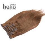 Prezzo poco costoso Brown dissipato doppio una clip da 20 pollici nell'estensione dei capelli