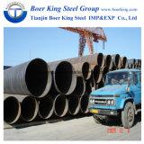 Utilisé pour le liquide pipelines de gaz d'huile API 5L GRB X42-X70 tuyau en acier soudé en spirale