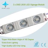 옥외 LED 표시를 위한 높 광도 0.72W 3 X SMD2835 LED 모듈 또는 채널 편지 또는 Lightbox