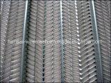 La construcción de los materiales de construcción evita acoplamiento de alambre del listón de la costilla del modelo de la demolición el alto