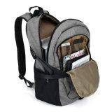 女性ビジネスバックパック袋のための灰色の人のバックパックの大きい容量のラップトップのノートのリュックサック
