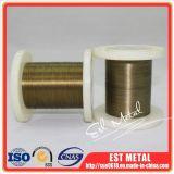 De Draad van Aloy van het Geheugen van de Vorm Nitinol van het super-elastiek Dia0.6mm