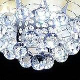Stilvolle Glasdecken-Hauptlampen