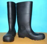 人の安全PVC雨靴、働くブート、保護履物、人の雨靴