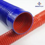 Boyau ondulé en caoutchouc de silicones de boyau de silicones flexibles
