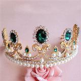 2018 индивидуальные Crystal Crown свадьбы стекла Stonne Rhinestone рождественских подарков Tiaras устраивающих Короны (CR-09)