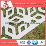 Corte a Laser de painéis de tela de alumínio PVDF/ Mashrabiya Empurrador Jardim/ empurrador de privacidade/ Régua de metal