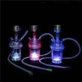 De Vaas + de Pijpen van het water voor de Rokende de e-Sigaret van de Waterpijp van Cigarett Shisha van de Pijp van het Glas van de Staaf Shisha Rokende Mini Elektronische Verstuiver van de Waterpijp van het Glas