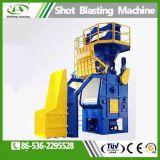 Automático de orugas de acero de alta eficiencia de máquina de granallado