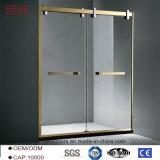 La moderna sala de ducha de vidrio simple fabricante de China