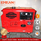 6kw, медь 100%, молчком, тепловозный генератор (CE)