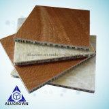 verglaasde de Marmeren Vloer van de Travertijn van 600X600mm de Opgepoetste Tegel van de Kern van de Honingraat