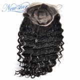 Pelucas brasileñas del pelo humano de la Virgen de la peluca del cordón de la peluca llena del cordón