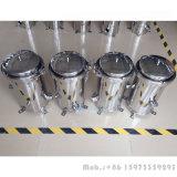 Acciaio inossidabile del commestibile SS304 SS316 custodia di filtro della Multi-Cartuccia da 40 pollici per la filtrazione dell'olio di noce di cocco
