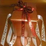 Смычок тесемки эластичной резиновой ленты оборачивать подарка тесемки рождества