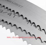 切断の穏やかな鋼鉄、ステンレス鋼および木刃の水平および縦の帯鋸については刃材料を帯鋸