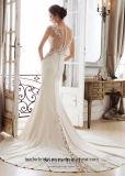 La promenade del partito del merletto veste il vestito da sera di cerimonia nuziale di Vestidos della sirena Y11889
