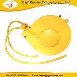 Hersteller-gelbe haltbare einziehbare Kabel-Großhandelsbandspule