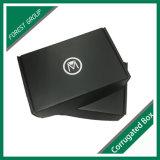 L'impression Noir mat Boîte en carton ondulé pour l'expédition