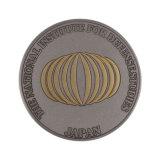 China Personalizada de Fábrica Melhor Moeda de tungsténio de Ouro de memória