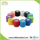 La muñeca cohesiva médica de la fabricación profesional envuelve el vendaje elástico auto-adhesivo
