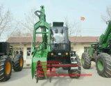 Hy-8600 de la caña de azúcar en la cargadora con pinza de la capacidad de 500 kg.