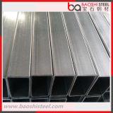 Tubo de acero rectangular galvanizado de carbón