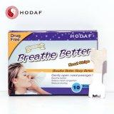 Respirar Hodaf tiras nasal derecha Anti-Snoring Parche Ce