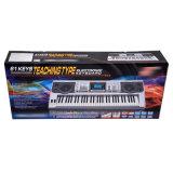 Mk810 музыкальный инструмент, 61 клавиш клавиатуры фортепиано электронный орган