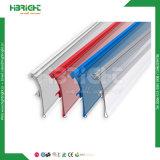 Supermarkt-Regal-freier Raum Plastik-Belüftung-Preis-Halter/Plastikprofil-Klipp für Supermarkt-Regal-Preis-Bildschirmanzeige