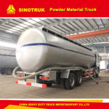 HOWO 8X4 40m3 분말 물자 수송 트럭 또는 부피 시멘트 트럭