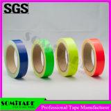 La cinta Sh504 de Somi impermeabiliza la cinta movible de neón del color amarillo para el propósito amonestador