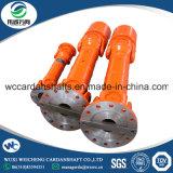 Piezas de la transmisión Industrial el SWC el eje de transmisión de acero de banda de rodadura