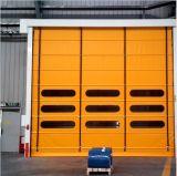 Le levage vertical avec un faible niveau de l'arbre automatique des portes de garage à haute vitesse (Hz-FC0243)