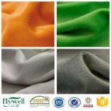 Tessuto spazzolato Velboa micro molle eccellente di lavoro a maglia per i giocattoli e gli indumenti da notte