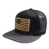 Hip Hop-kundenspezifischer Ineinander greifen-Hysteresen-Schutzkappen-Sommer-Fernlastfahrer-Hut