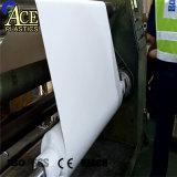 Transparency 0.65mm Lampshade White rigid PVC Sheet