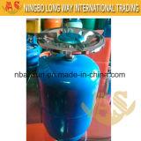 Cylindre de gaz de LPG de petit récipient de l'Afrique de l'ouest 6kg, BBQ 5kg