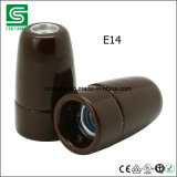 Держатель светильника Colshine E14 керамический Edison, свет шкентеля фарфора сбор винограда