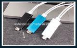 Кабель HDTV кабеля HDMI для USB молнии к HDMI HD1080p для iPhone