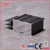 6.063-T5 Jateamento LED anodizado preto Perfil de esquadrias de alumínio (A55)